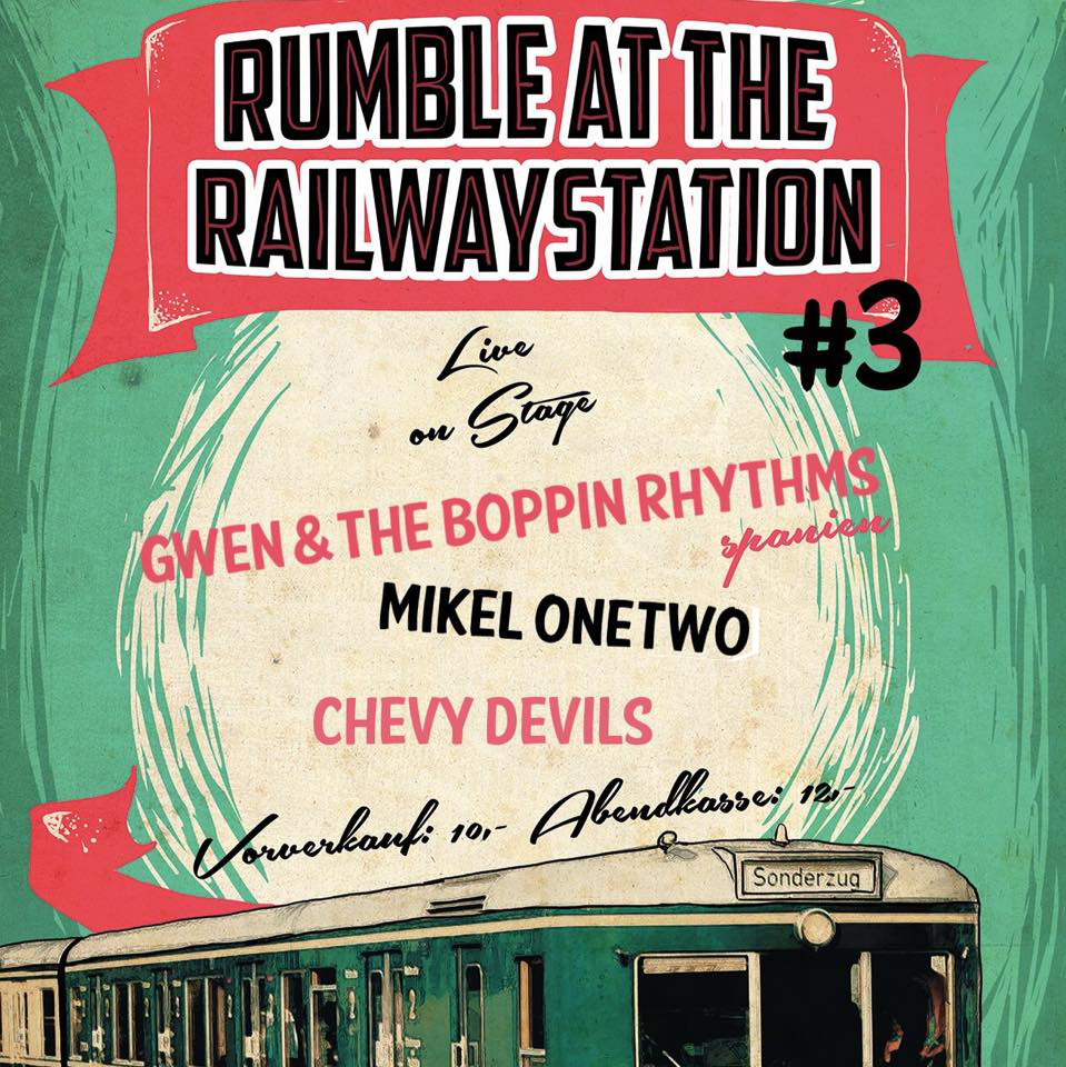Rumble At The Railway Station im Stellwerk, Harburg